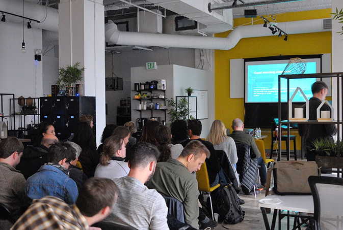 We hosted a session at this year's Denver Startup Week