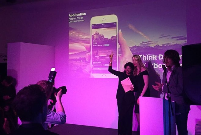 Think Design wins People's Choice Award at Creativepool Awards 2017