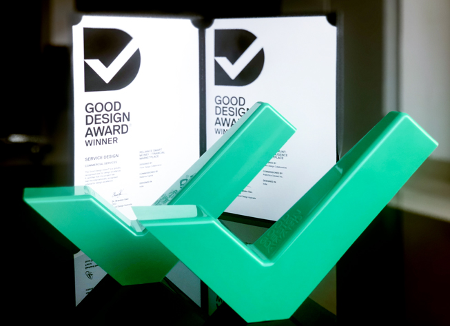 Think Design wins two awards at Good Design Awards 2018