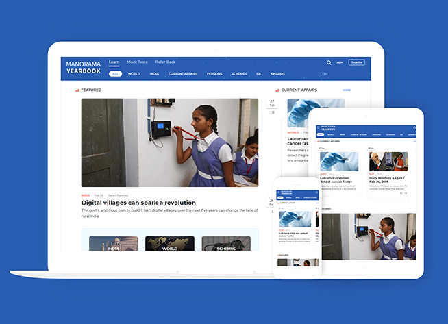 Manorama Yearbook's online avatar, launched
