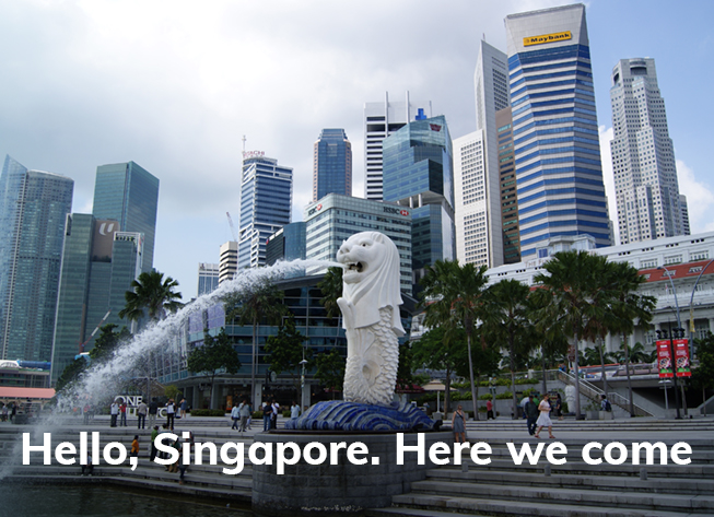 We are now in Singapore with our enhanced practices!