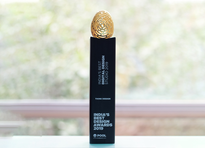 Think Design is India's Best Design Studio for the fourth successive year!
