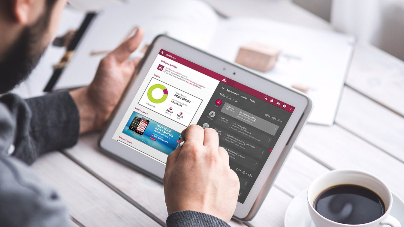 Axis Bank RM: Empowering Relationship Managers through a range of apps