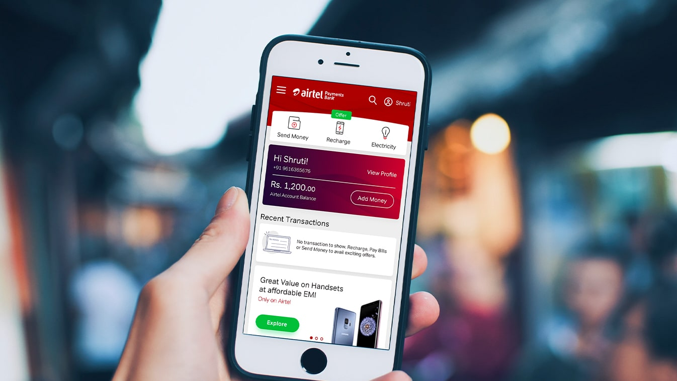 Airtel Payments Bank: Powering India's first payments bank with Design