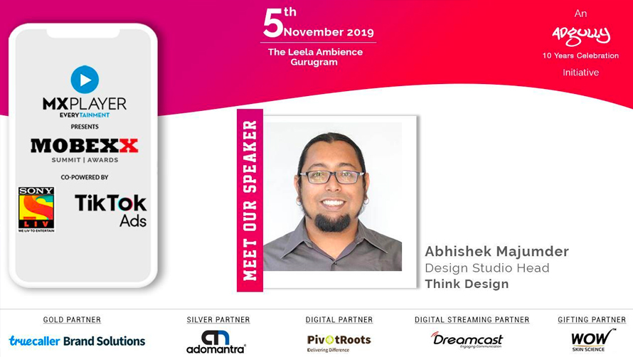 Abhishek Majumder speaks at Mobexx 2019.