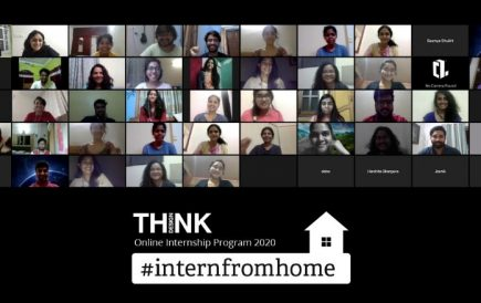 Think Design announces 'Intern from Home' initiative.