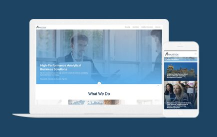 Analyttica's Corporate website launched