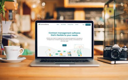 Contract Management application, ContractSense launched