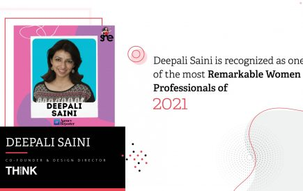Deepali Saini is recognized as one of the most remarkable women professionals of 2021