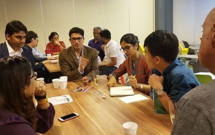 """Hari Nallan conducts """"Knowing the Unknown"""" workshop in Singapore Design Week"""