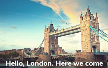 Think Design is now in London and we couldn't be more excited.