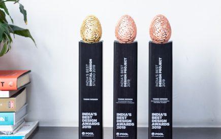 Think Design sweeps 3 awards at India's Best Design Awards