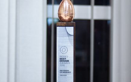 Our work for IDBI Federal has been awarded India's Best Design Project Award