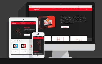 M-Seal corporate/ brand website launched
