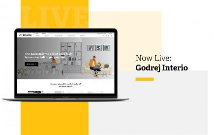 Now Live: Godrej Interio Website