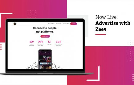 Now live: Advertise with Zee5