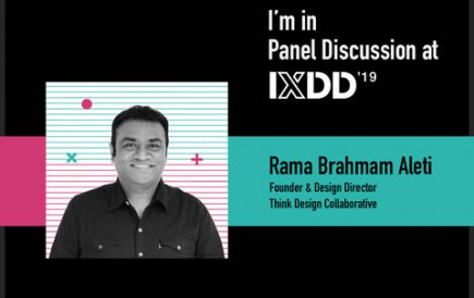Rama speaks at IXDD 2019
