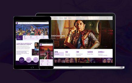 Zee Entertainment Corporate website