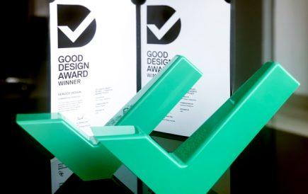 Think Design wins two awards at Good Design Awards 2018