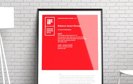Think Design wins iF Design Award 2018 for Service Design/ UX